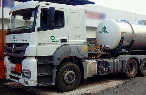 transporte de cargas liquidas a granel Transpirajá
