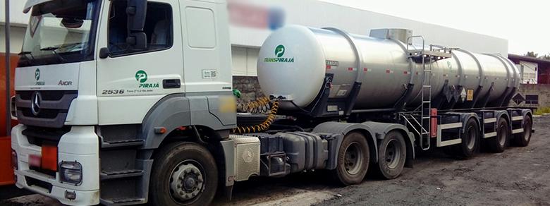 Transporte de Produtos químicos e petroquímicos Produtos perigosos/controlados Resíduos industriais
